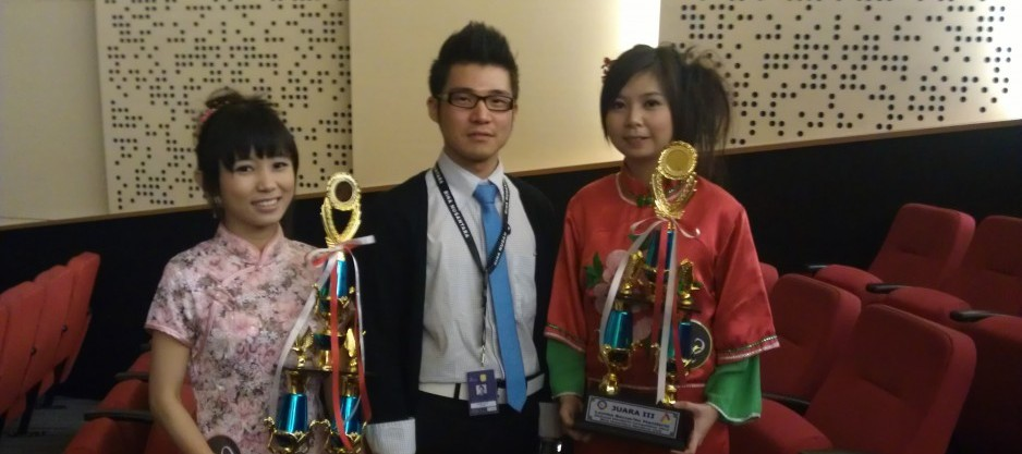 Winners of 2012 Chinese Bridge Competition (Jakarta region)