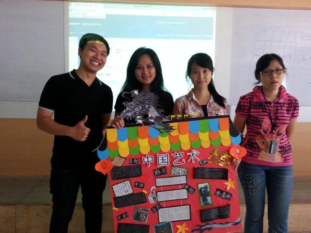Willyarto, Yuliani, Sansan, Allegra 与他们的中国艺术报告
