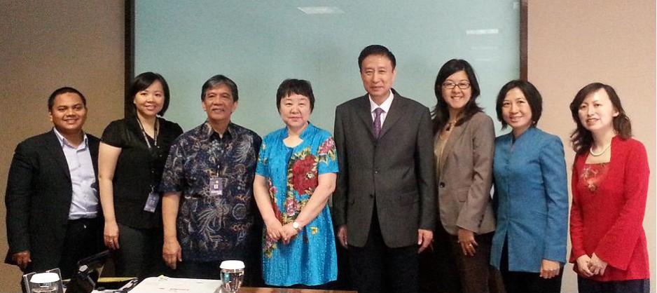 首都师范大学代表团与中国驻印尼参赞访问我校