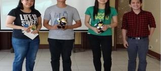 Ketua Jurusan (Andyni laoshi), Wakil Ketua Alumni (Andika), Ketua Alumni (Marini), BARC / Binus Alumni Relation Center (Agus Edy)