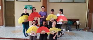 舞蹈课外活动老师与成员合照