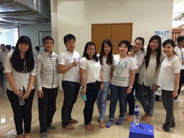 Foto Laoshi dan Mahasiswa
