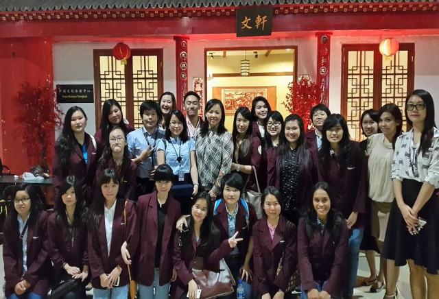 Kunjungan ke Pusat Bahasa Mandarin (Confucius Institute) Maranatha