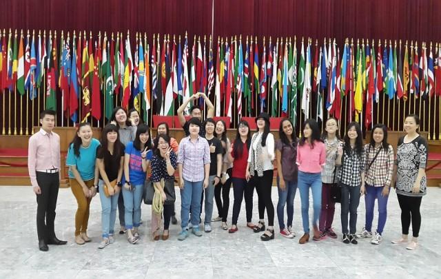 Kunjungan ke Museum Asia Afrika Bandung