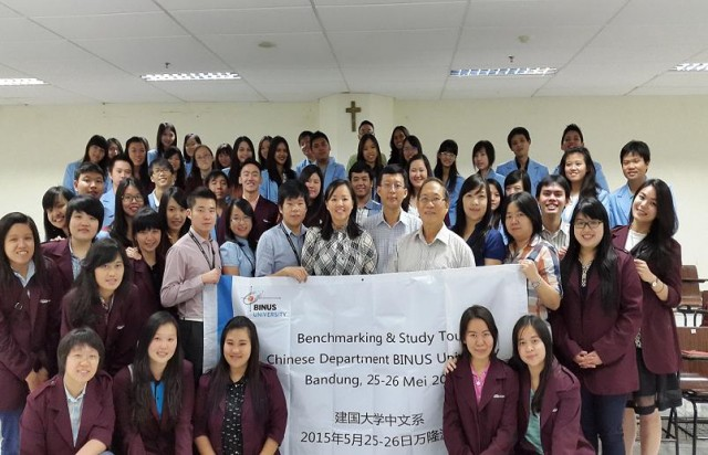 Kunjungan ke Sastra China Universitas Maranatha