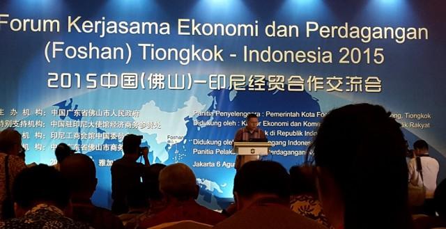 Forum Ekonomi dan Perdagangan Tiongkok (Foshan) - Indonesia 2015 - 3