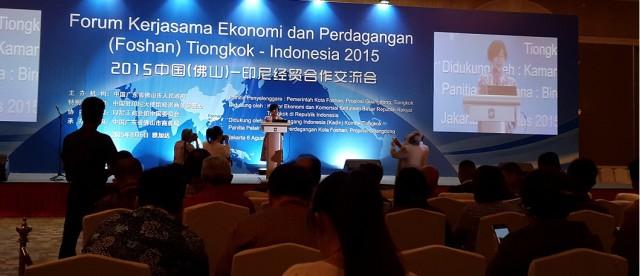 Forum Ekonomi dan Perdagangan Tiongkok (Foshan) - Indonesia 2015 - 4