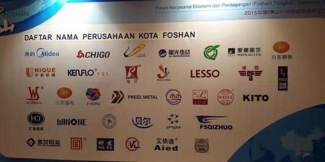 Forum Ekonomi dan Perdagangan Tiongkok (Foshan) - Indonesia 2015 - 6