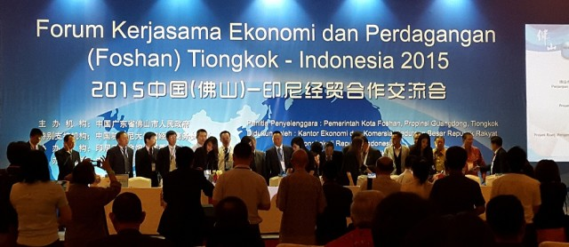 Forum Ekonomi dan Perdagangan Tiongkok (Foshan) - Indonesia 2015 - 7