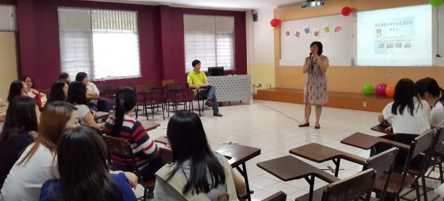 Kata Sambutan dari Ketua Jurusan Sastra China BINUS, Andyni Khosasih Laoshi