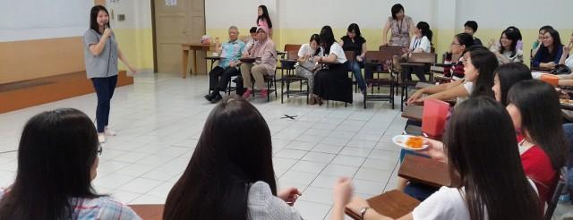 Kata sambutan dari alumni sastra China BINUS. Tiara Marlin