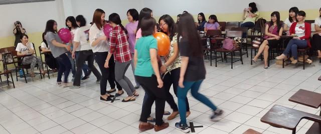 Kekompakkan antara mahasiswa, alumni dan dosen Sastra China BINUS