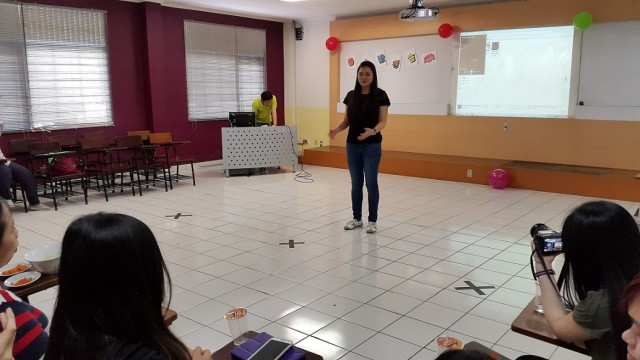 Kata sambutan dari ketua Alumni Sastra China BINUS, Marini