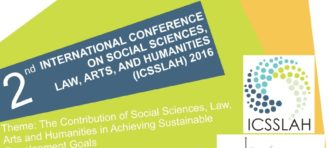 CALL FOR PAPERS: THE 2nd INTERNATIONAL CONFERENCE ON SOCIAL SCIENCES, LAW, ARTS AND HUMANITIES (ICSSLAH) 2016