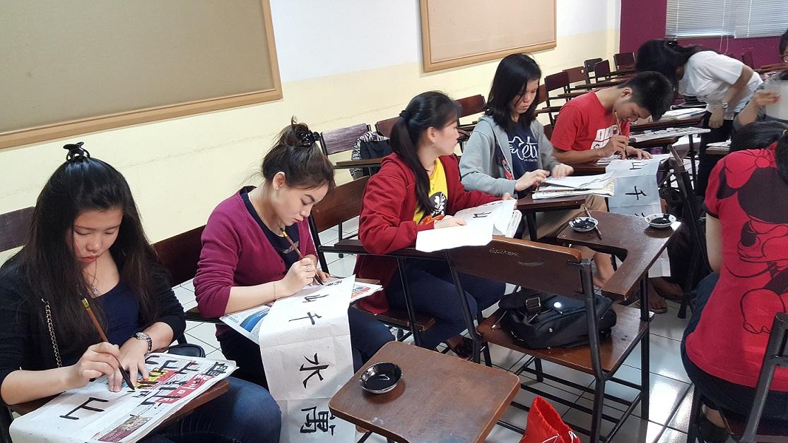 Hasil Karya Ekstrakulikuler Kaligrafi Semester Genap 2015-2016-2