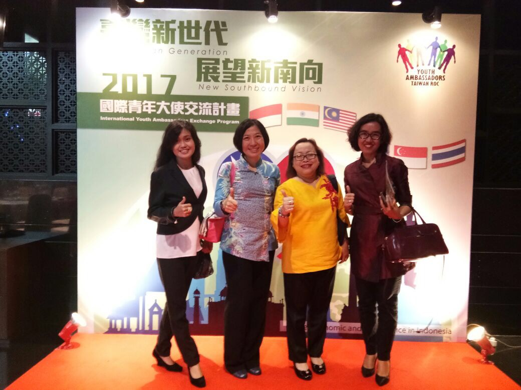 Kunjungan Delegasi [Taiwan Youth Ambassadors] New Southbound Vision ke Indonesia