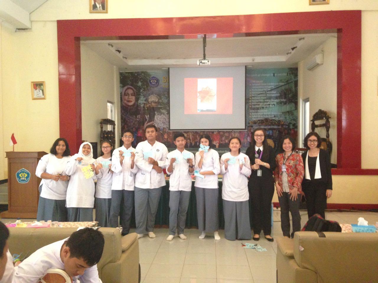 Workshop Kebudayaan Tiongkok di SMAN 2 Tangerang Selatan
