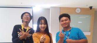 建国大学生锻炼太极拳