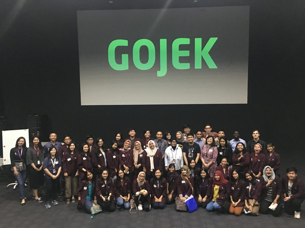 Faculty Humanities BINUS University's Student Visit to Gojek