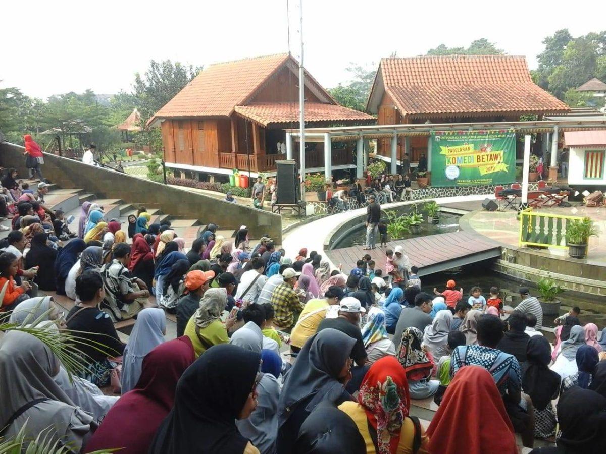 suasana di Kampung Betawi Setu Babakan