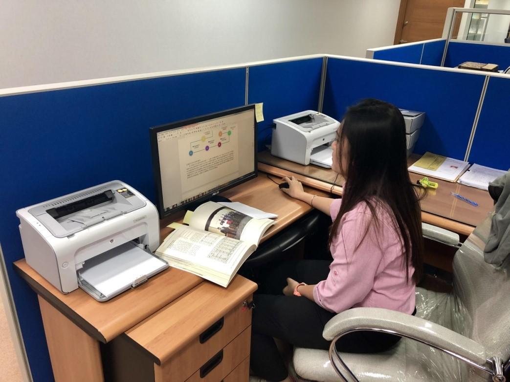 Pengalaman Magang Ayulia Widya di TETO (Taipei Economic and Trade Office)