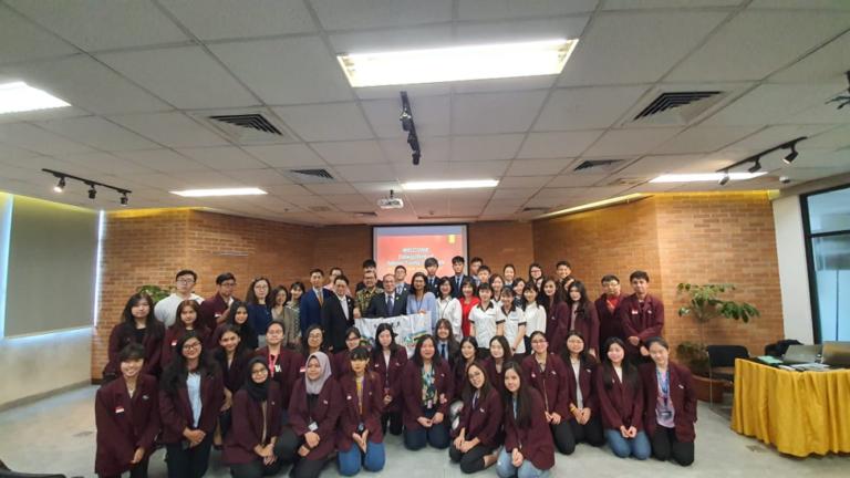 BINUS UNIVERSITY WELCOME DELEGATION OF  TAIWAN YOUNG AMBASSADORS